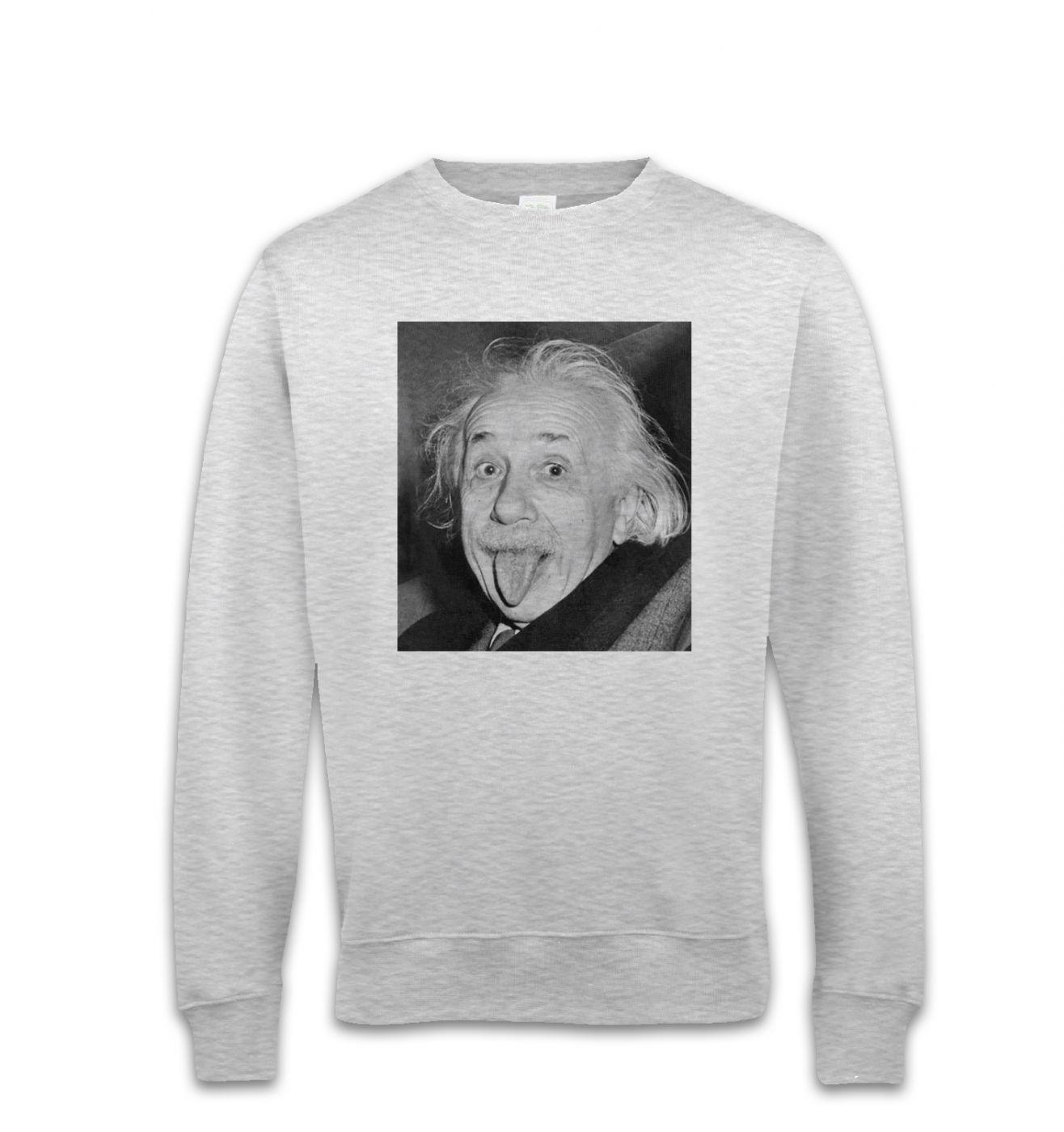 Einstein Tongue sweatshirt