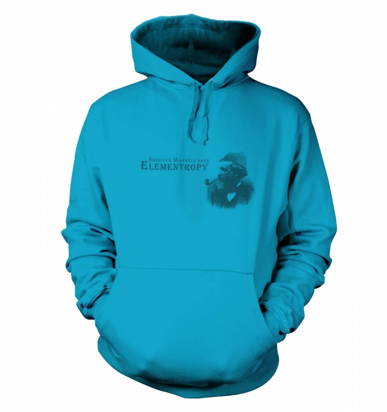 Elementropy Sherlock Holmes James Clerk Maxwell hoodie