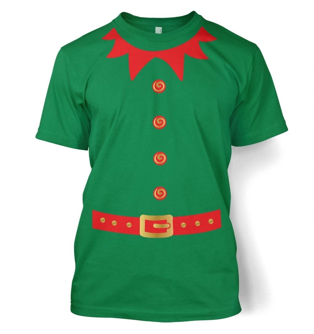 Elf Men's T-shirt (red detail)