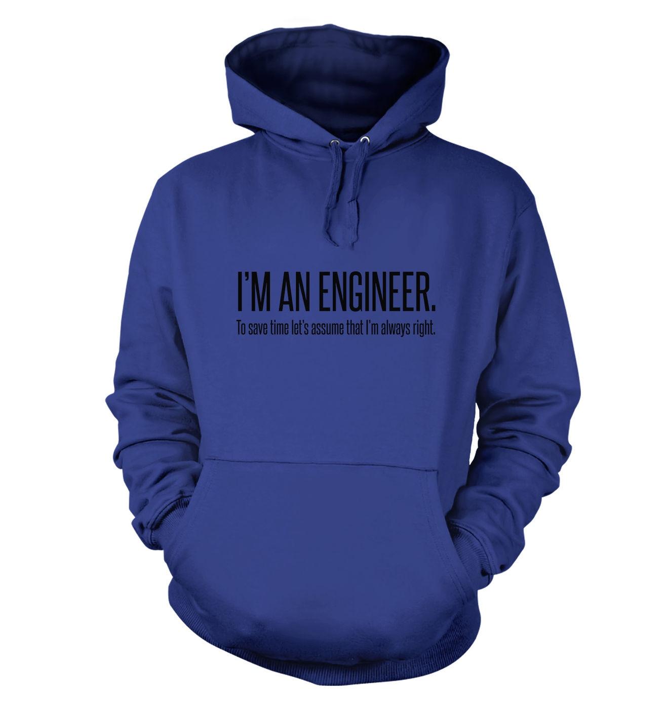 Engineer Always Right hoodie by Something Geeky