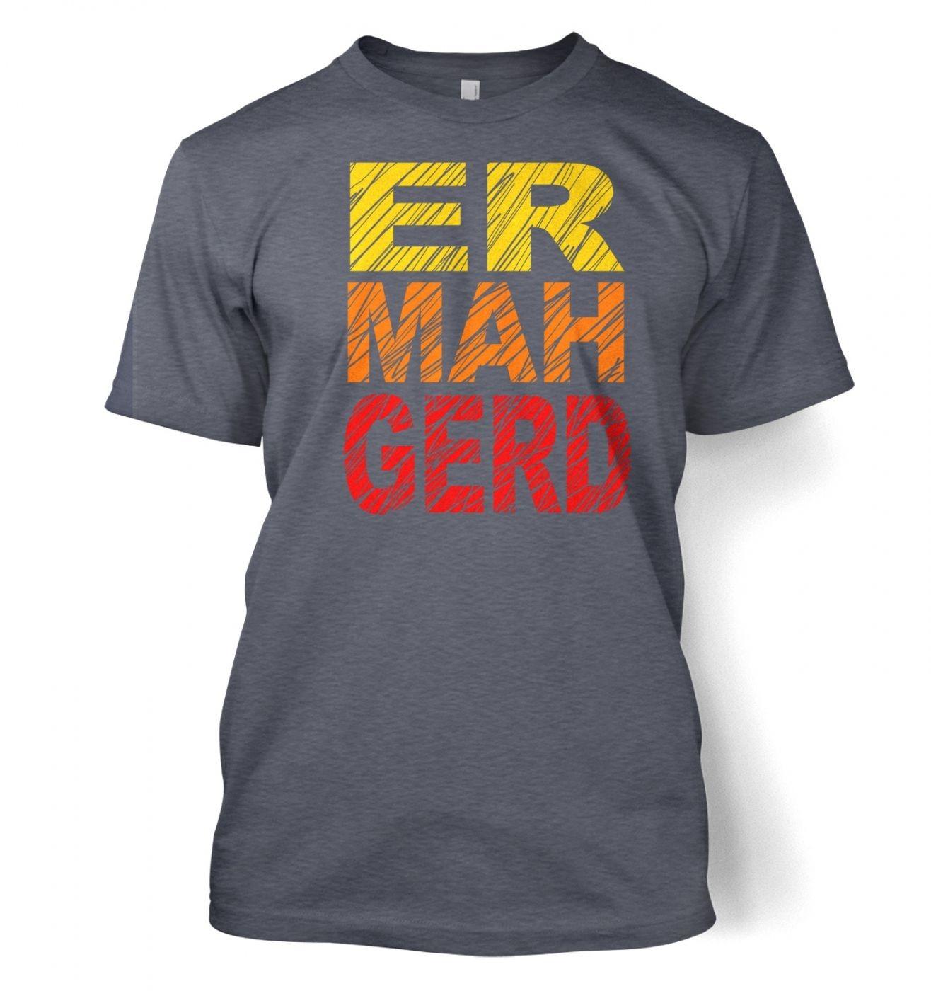 ERMAHGERD (Colour) t-shirt