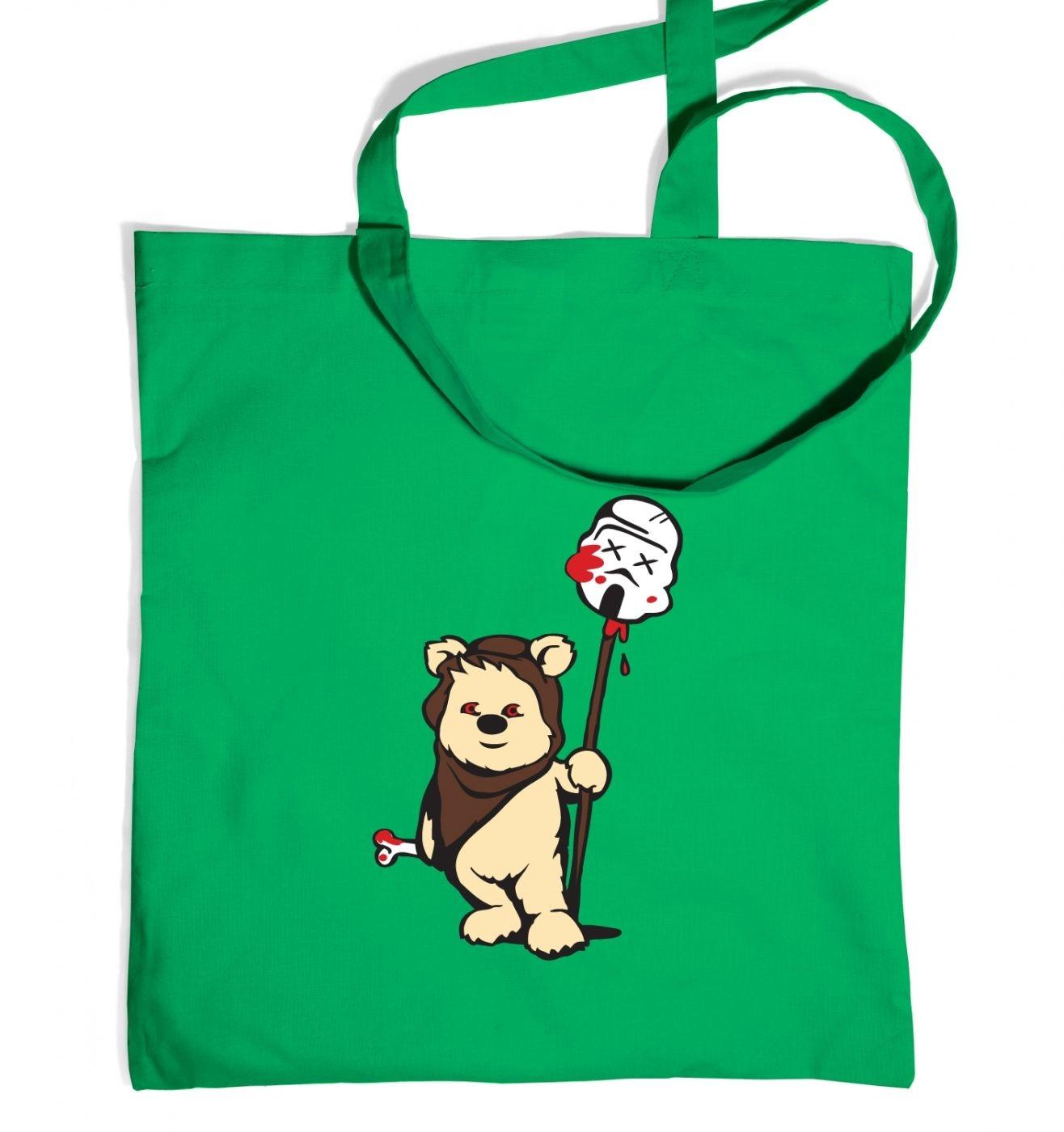 Evil Ewok tote bag
