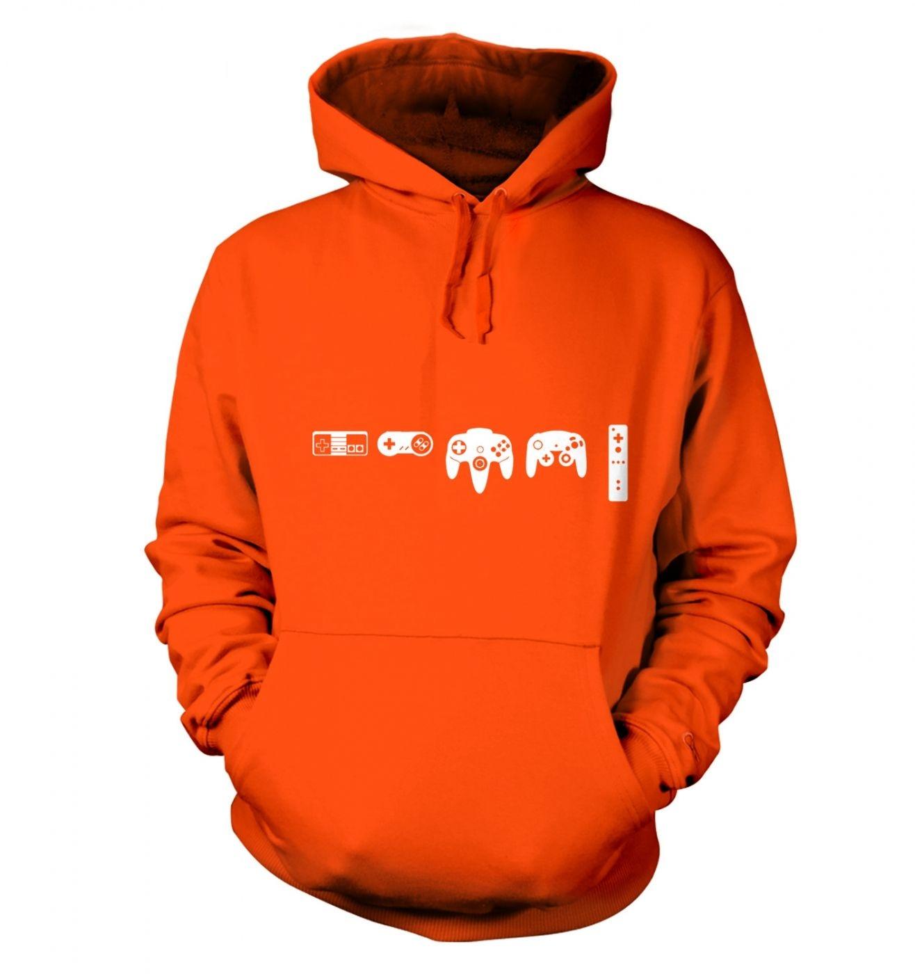 Evolution Of Nintendo hoodie