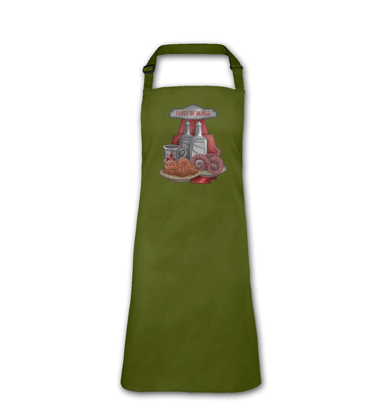 Feast Of Klings adult apron by Something Geeky