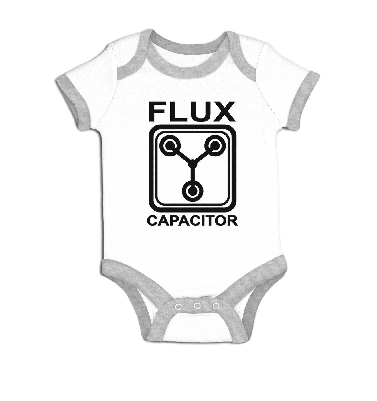 Flux Capacitor baby grow
