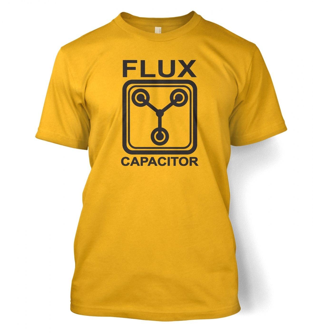 Flux Capacitor men's t-shirt