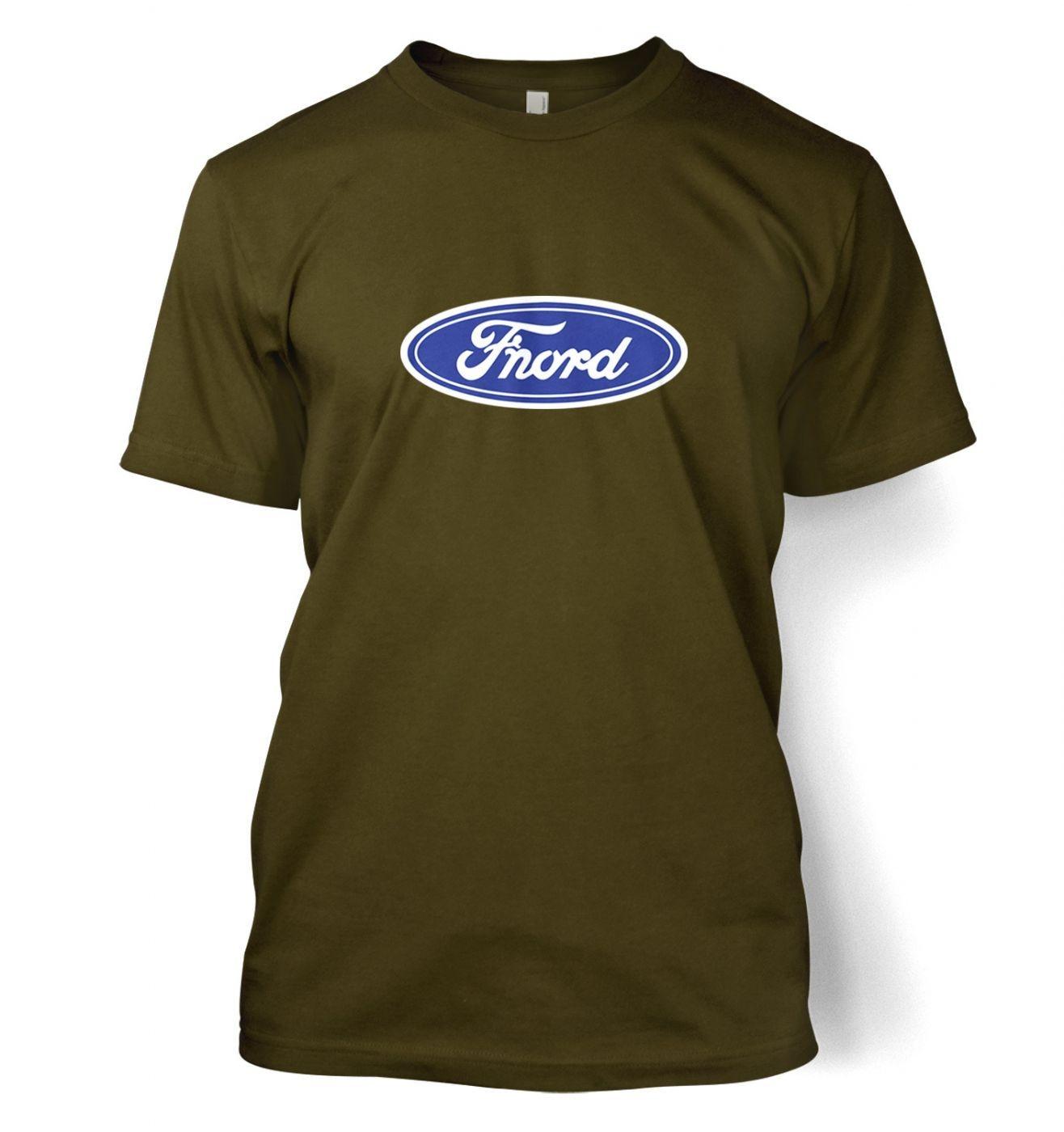 Fnord (logo) men's t-shirt