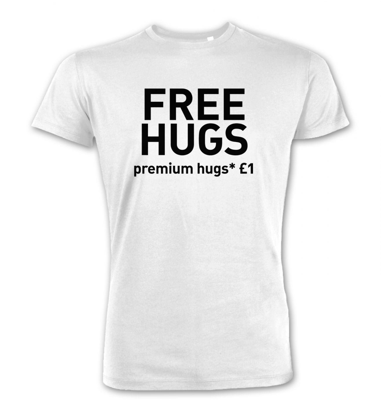 Free Hugs (Premium Hugs £1) premium t-shirt