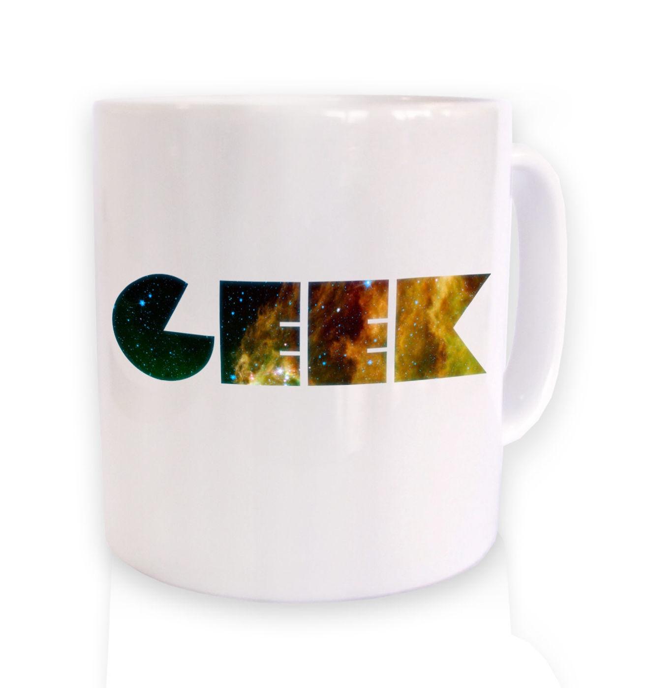 Galaxy Geek mug by Something Geeky