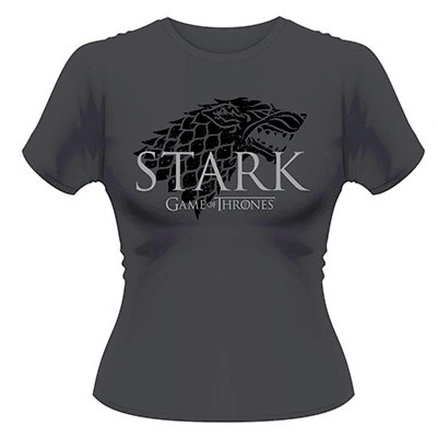 Game Of Thrones Stark  Ladies Tshirt