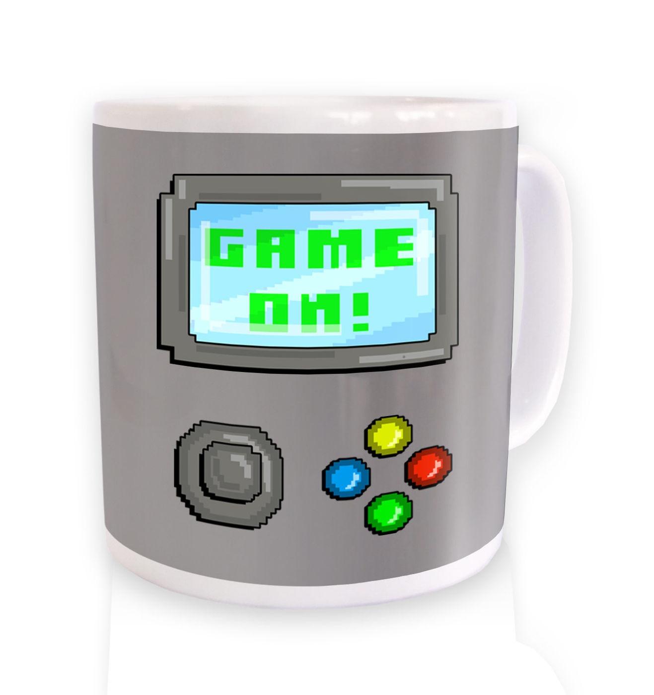 Game On mug by Something Geeky
