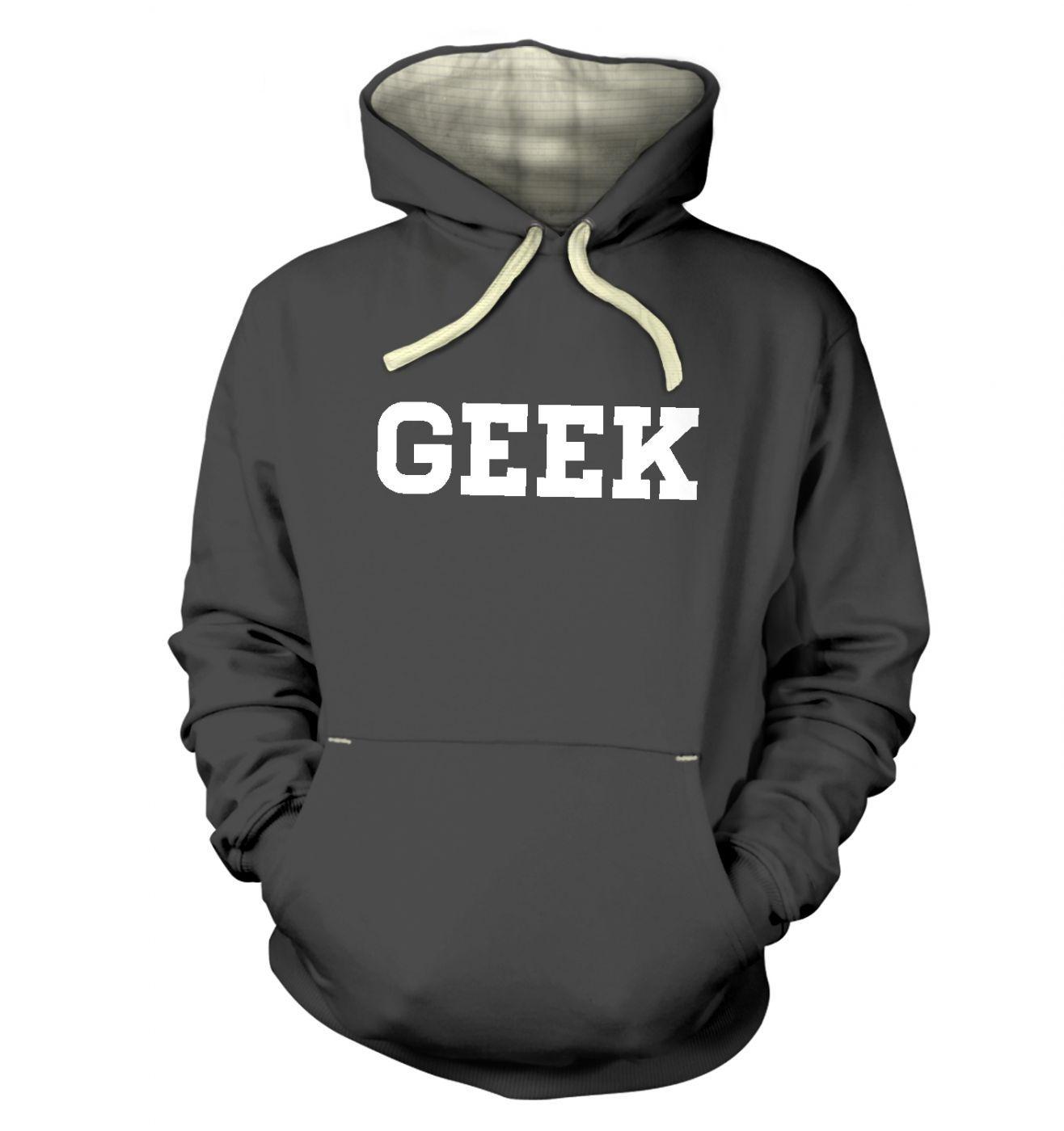 Geek hoodie (premium)