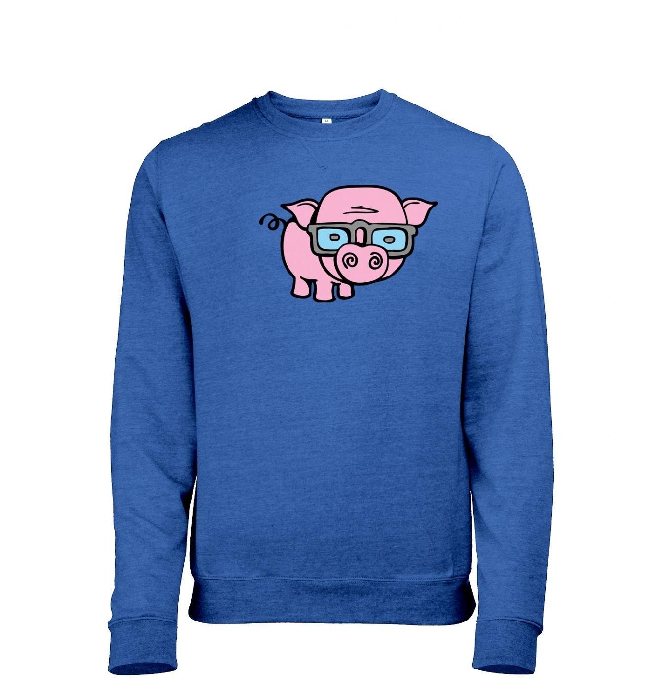 971aaa02 Geek Pig heather sweatshirt - Somethinggeeky