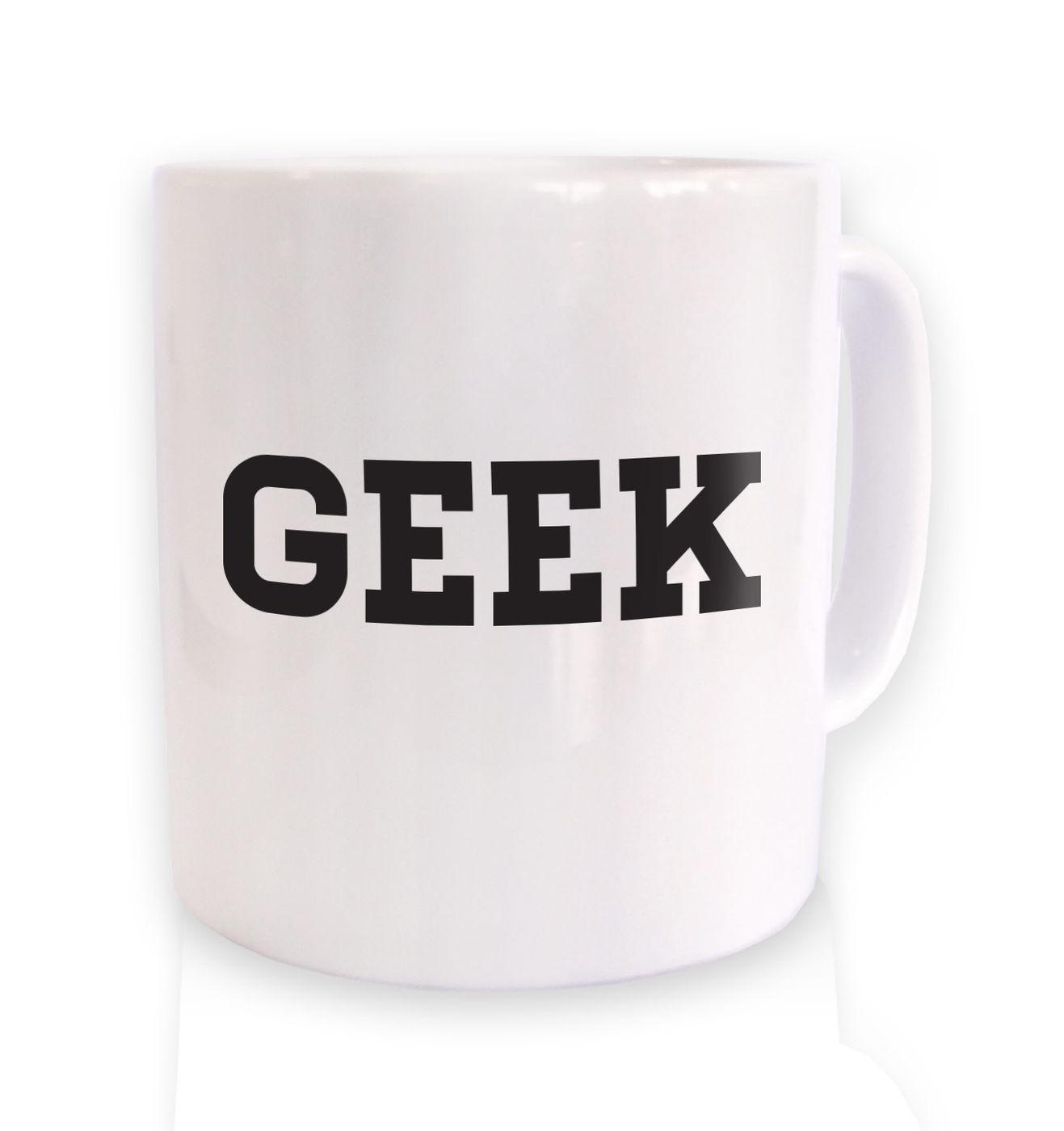 Geek (Varsity) mug