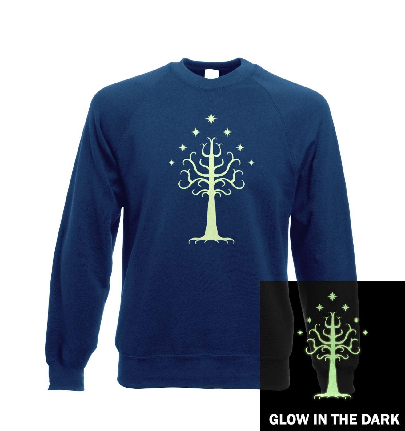 Glowing Tree of Gondor Adult Sweatshirt