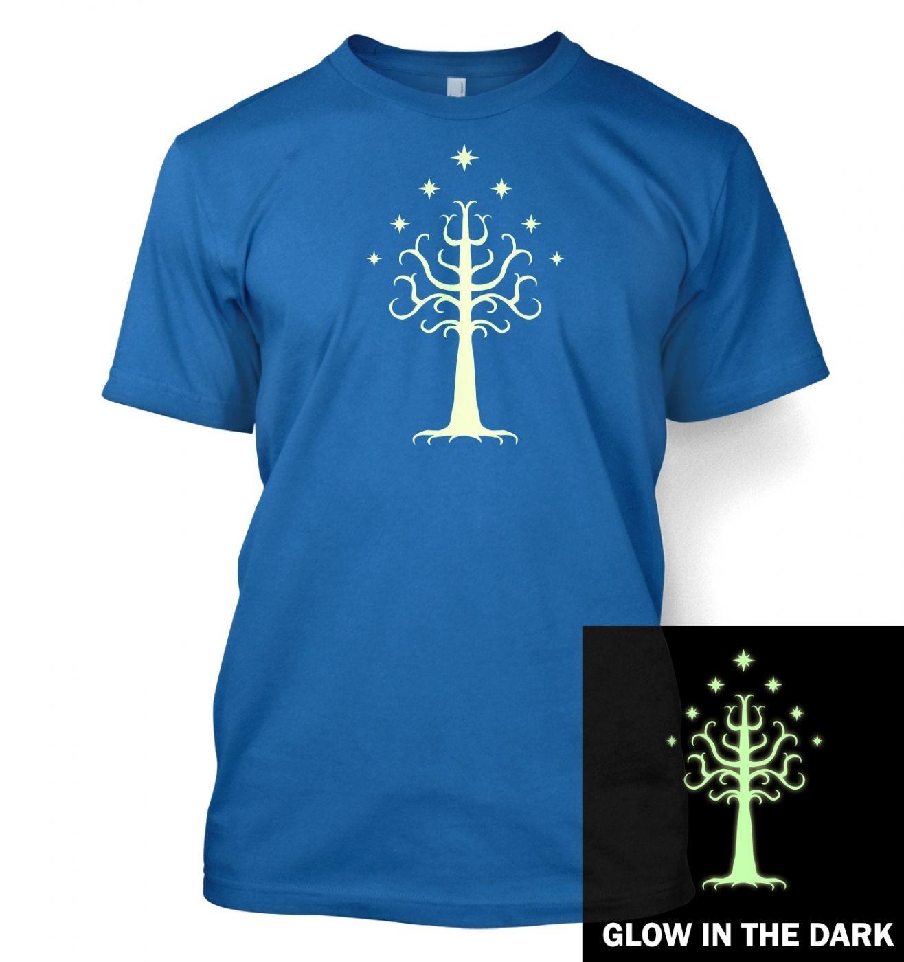 Glowing Tree of Gondor T-Shirt
