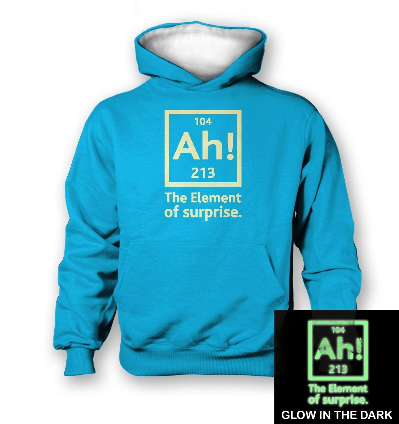 b9225bf5c Ah! The Element of Surprise (glow in the dark) kids' hoodie ...