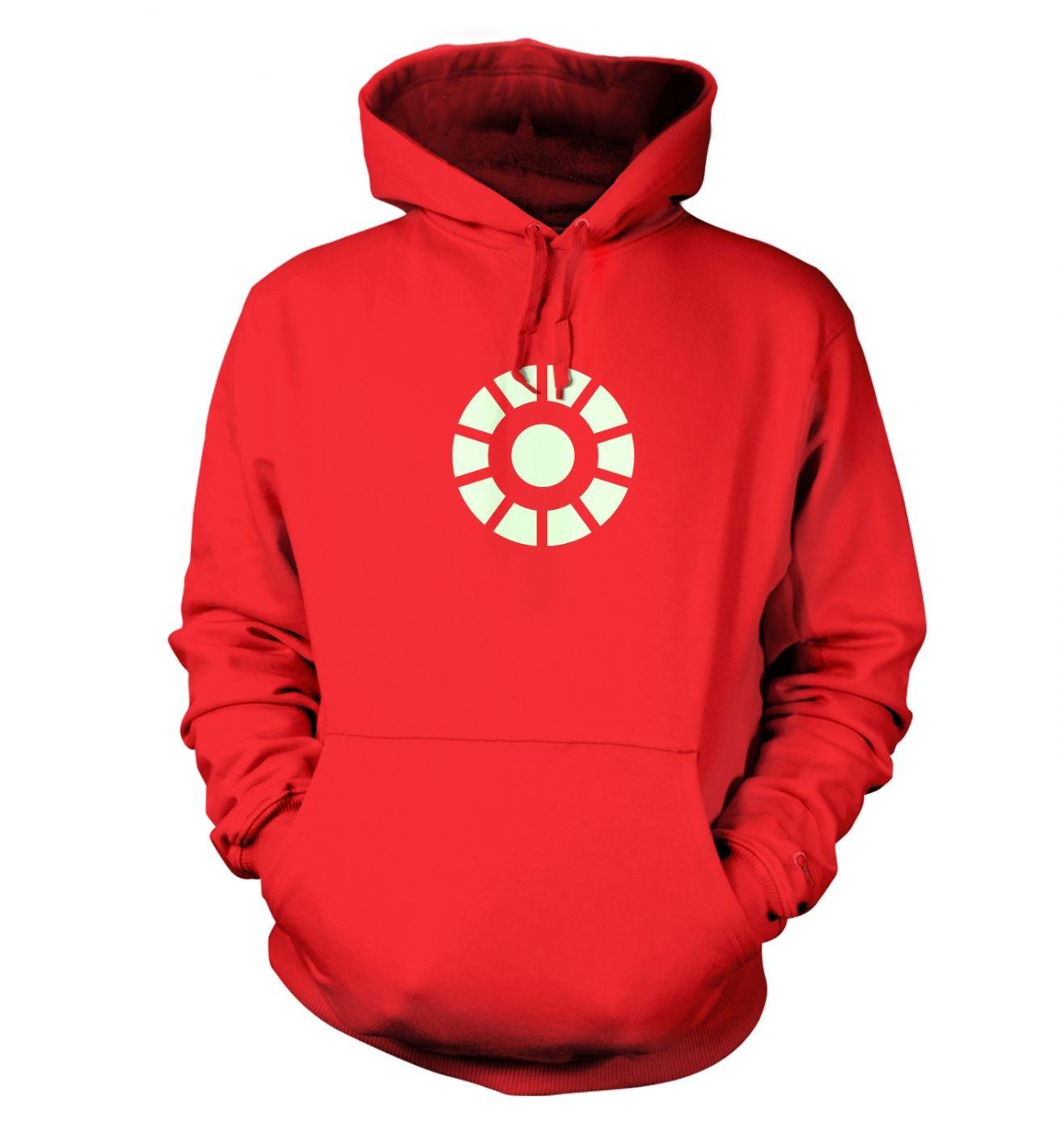 Arc Reactor (glow in the dark) hoodie