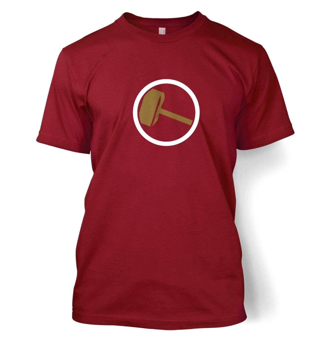 Hammer Slogan men's t-shirt