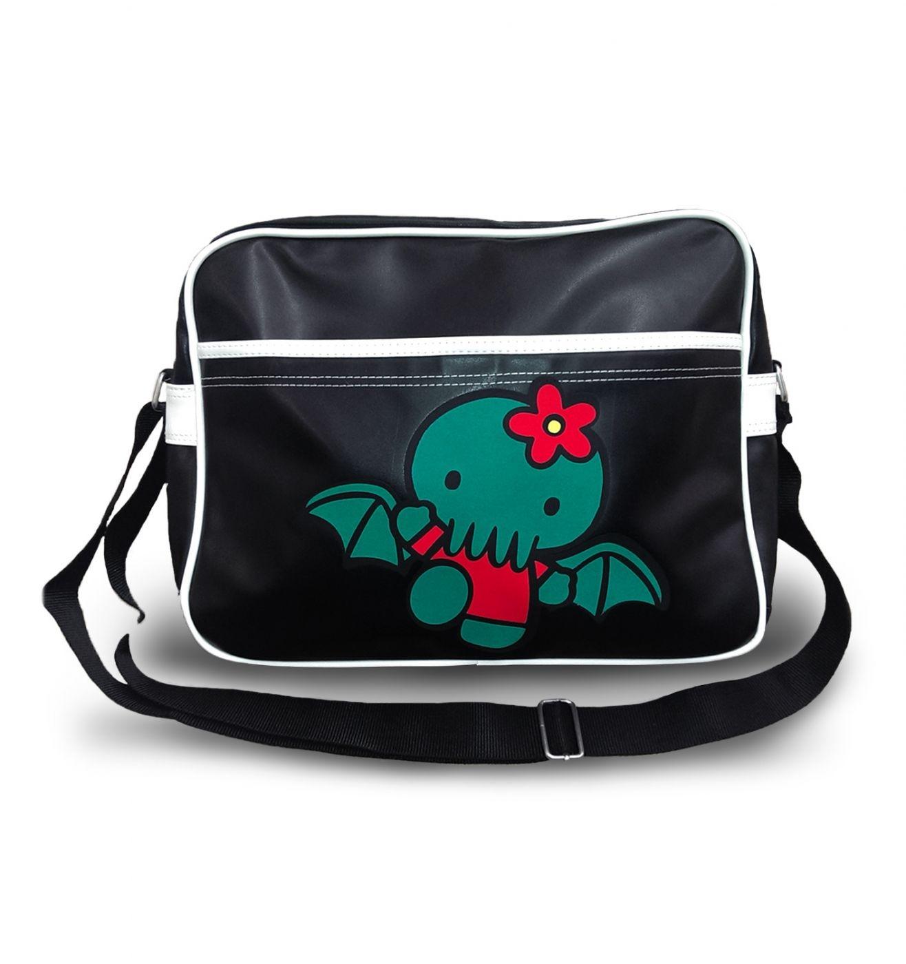 Hello Cthulhu airline messenger bag
