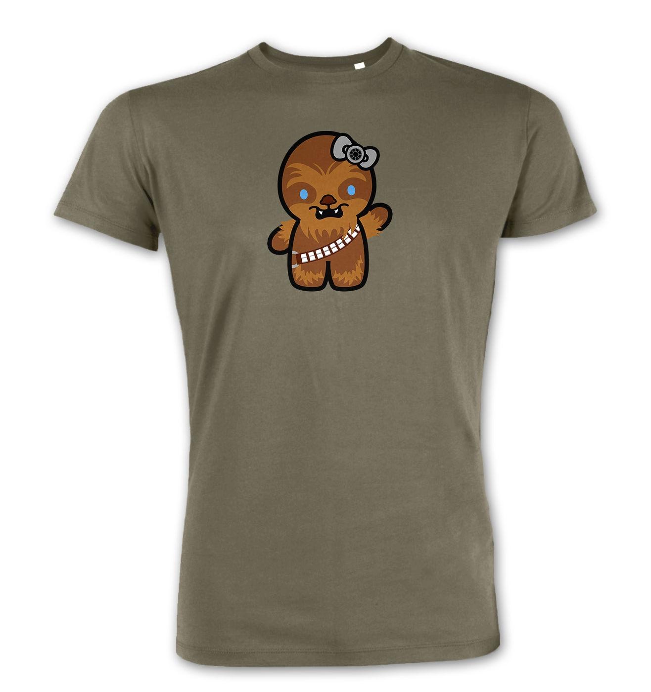 Hello Wookiee premium t-shirt. Hello Kitty Star Wars parody mashup tee