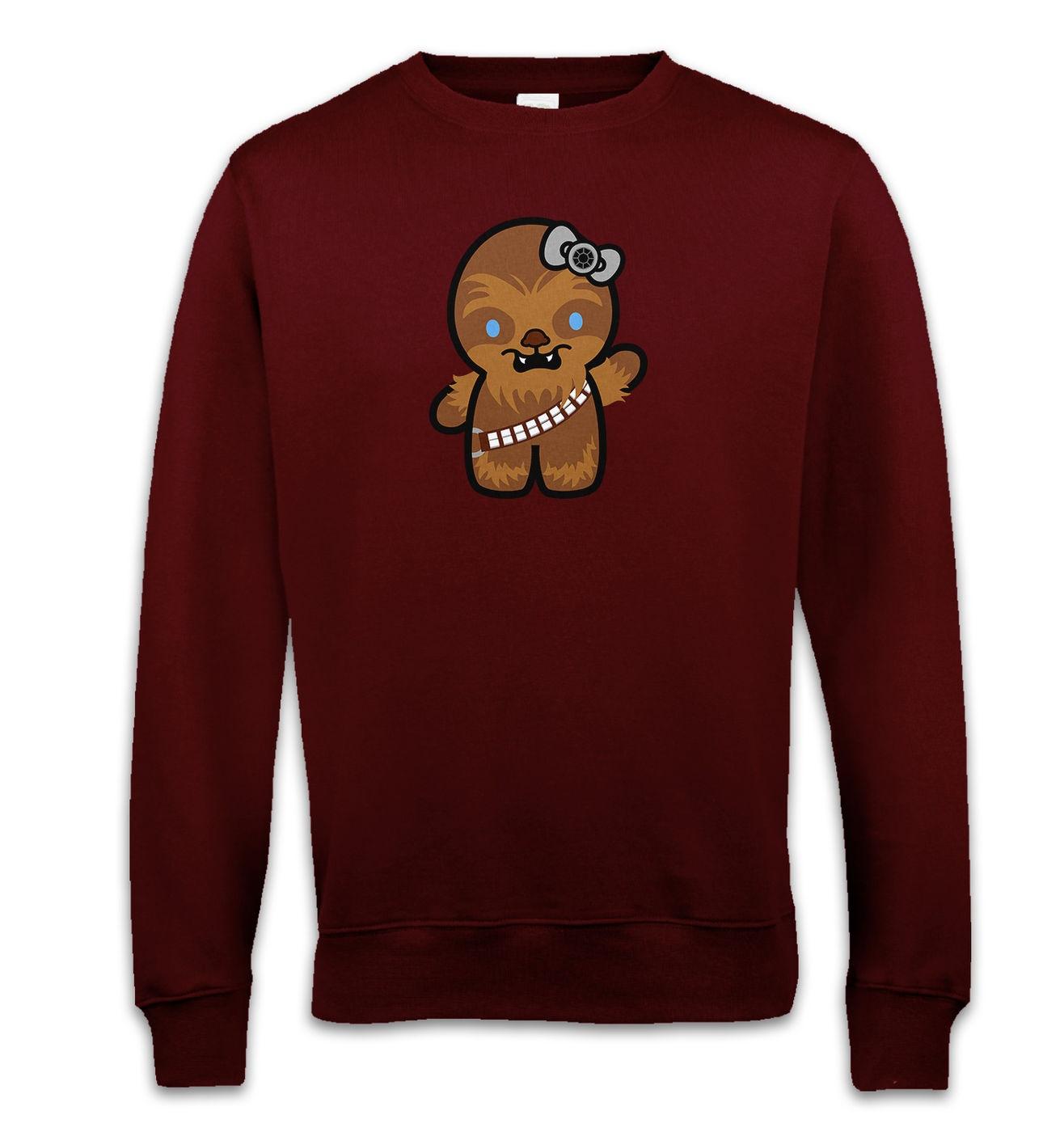 Hello Wookiee sweatshirt - Hello Kitty Star Wars parody mashup sweater