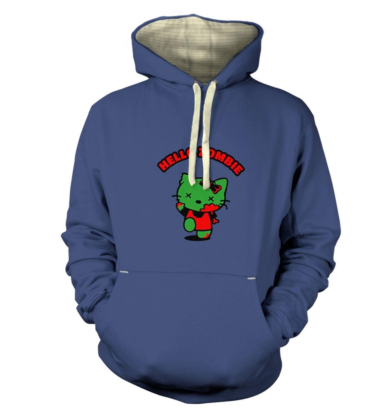 Hello Zombie premium hoodie