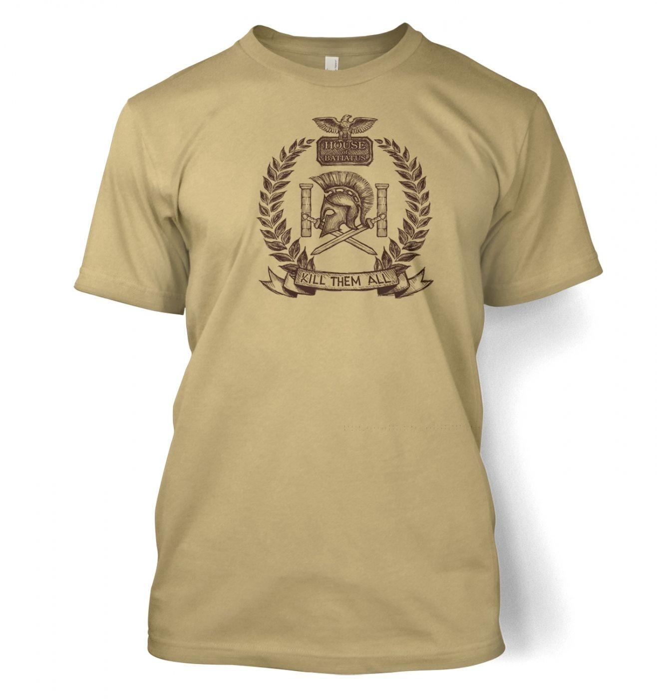 Brown house Batiatus men's t-shirt