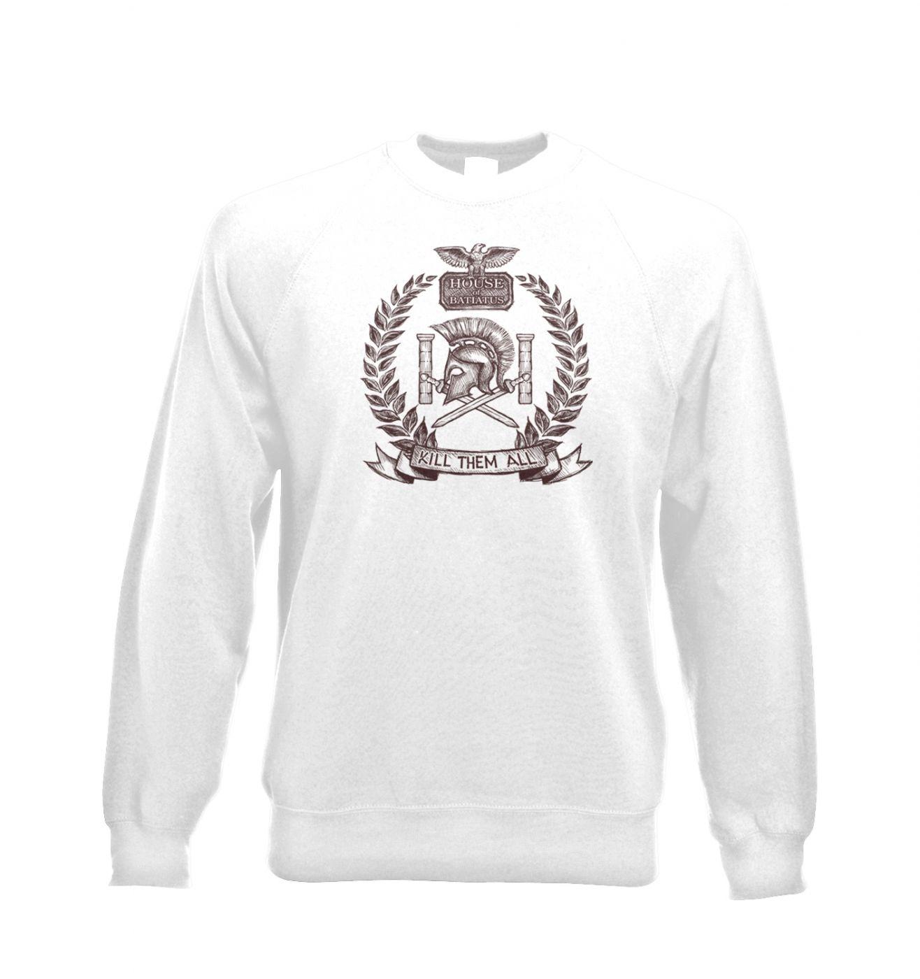 Brown house Batiatus unisex crewneck sweatshirt