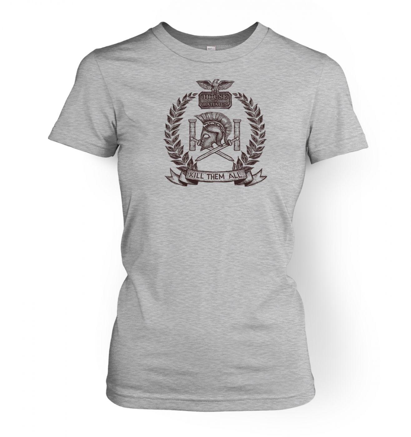 Brown house Batiatus women's t-shirt