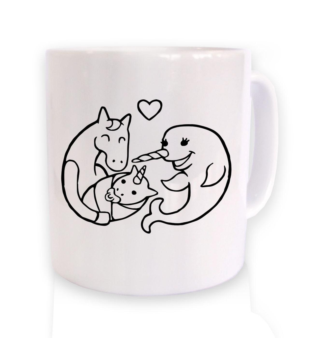 How unicorns are born mug - unicorn mugs