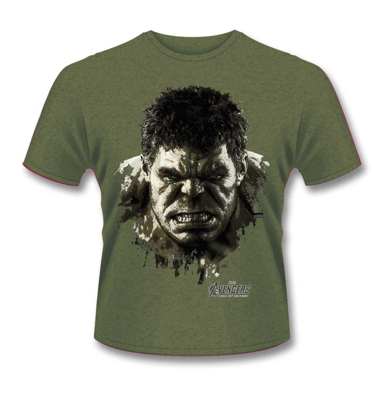 Hulk t-shirt - Official Avengers: Age Of Ultron Incredible Hulk tee