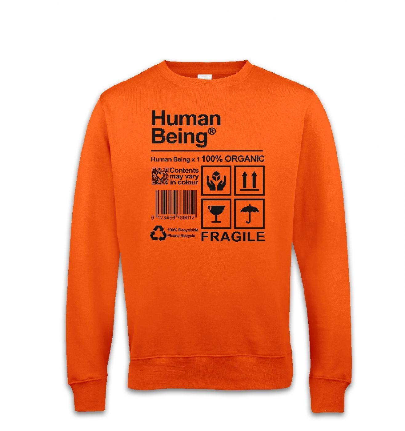 Human Being sweatshirt