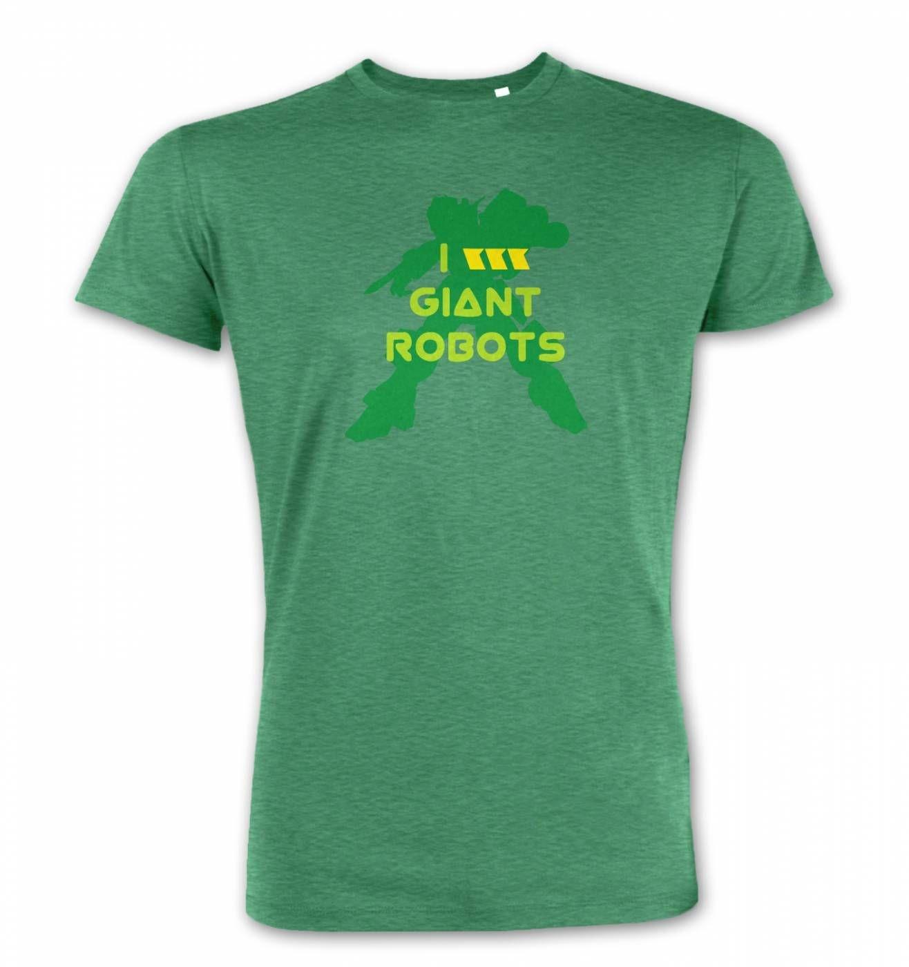 I Love Giant Robots premium t-shirt