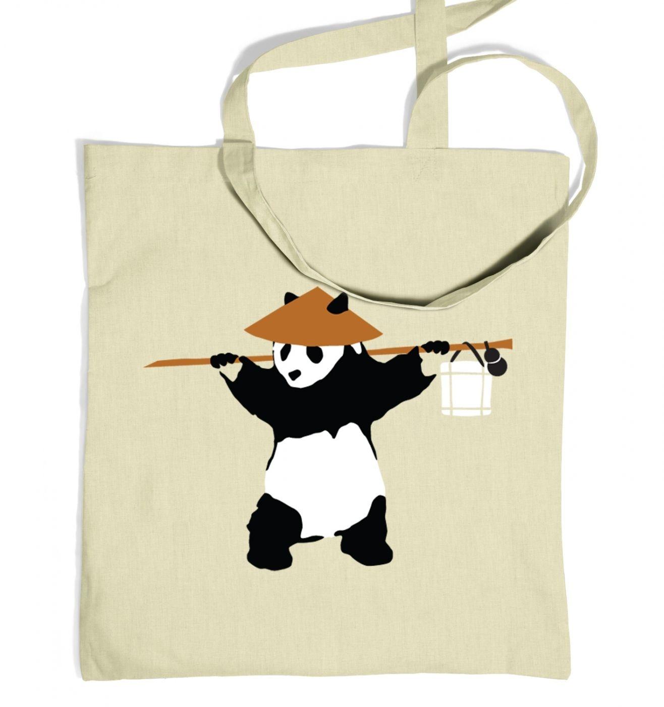 If Banksy Played WoW, He'd Be Pandaren tote bag