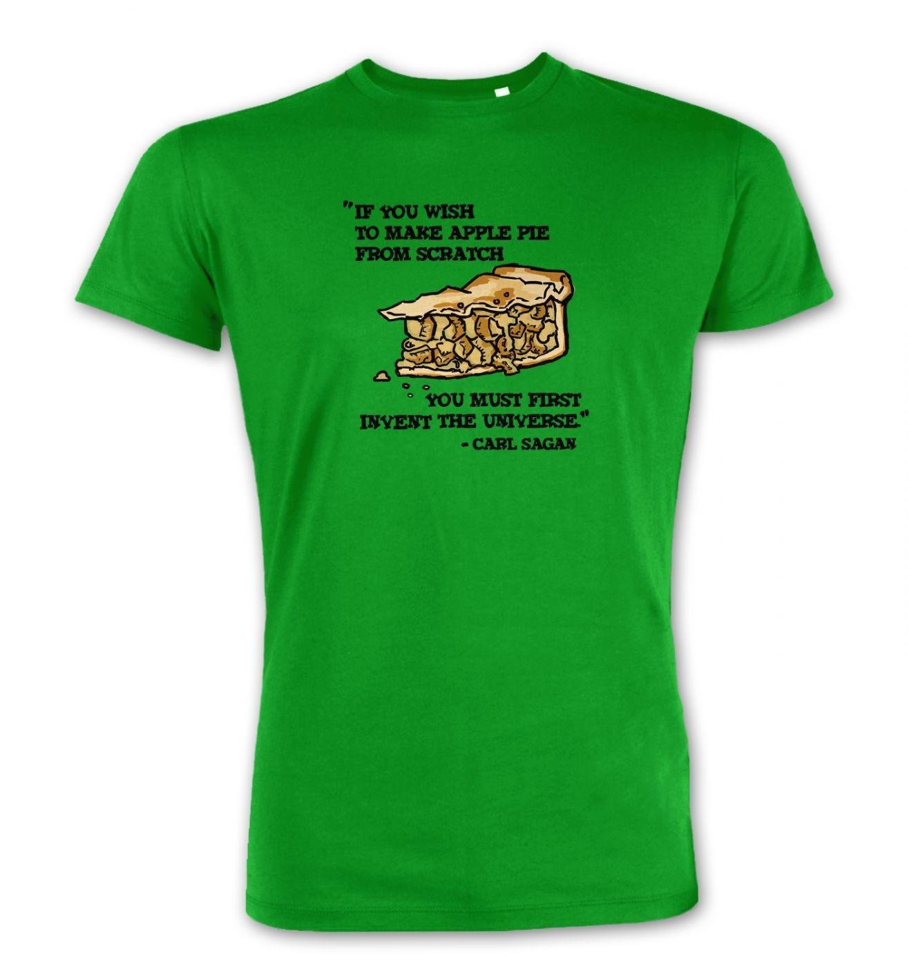If You Wish To Make Apple Pie Carl Sagan Premium t-shirt