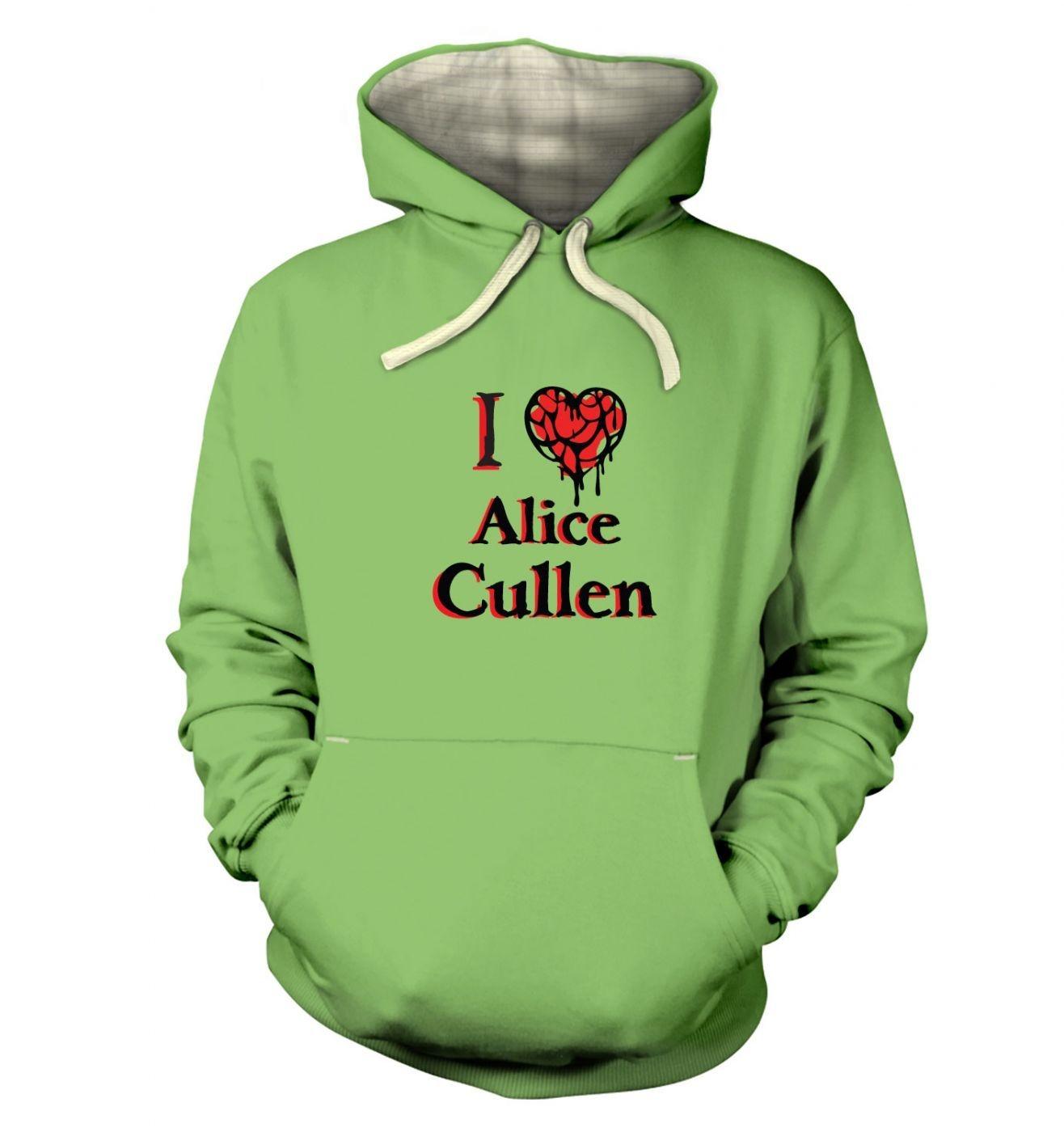 I Heart Alice Cullen premium hoodie