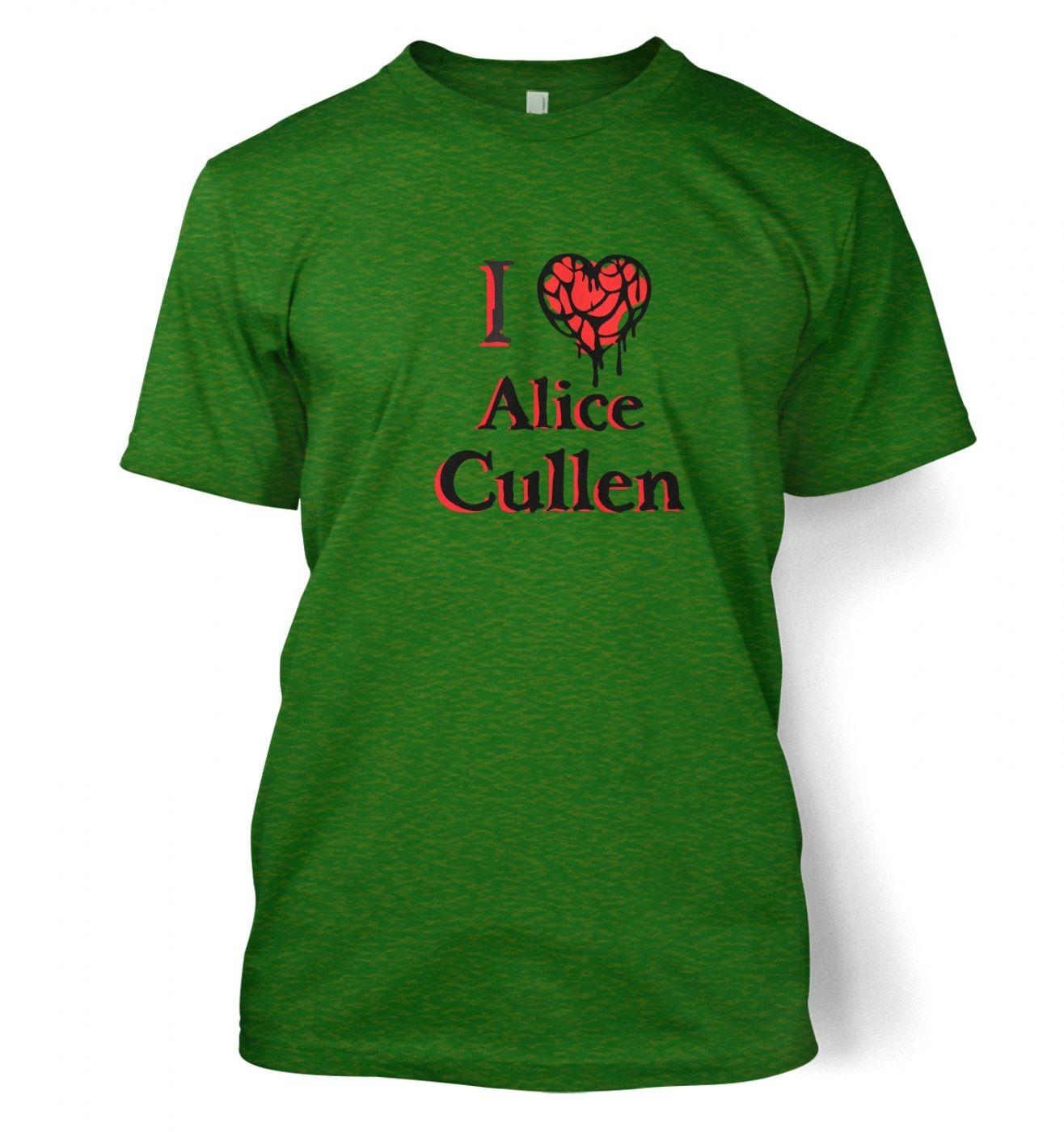 I Heart Alice Cullen men's t-shirt