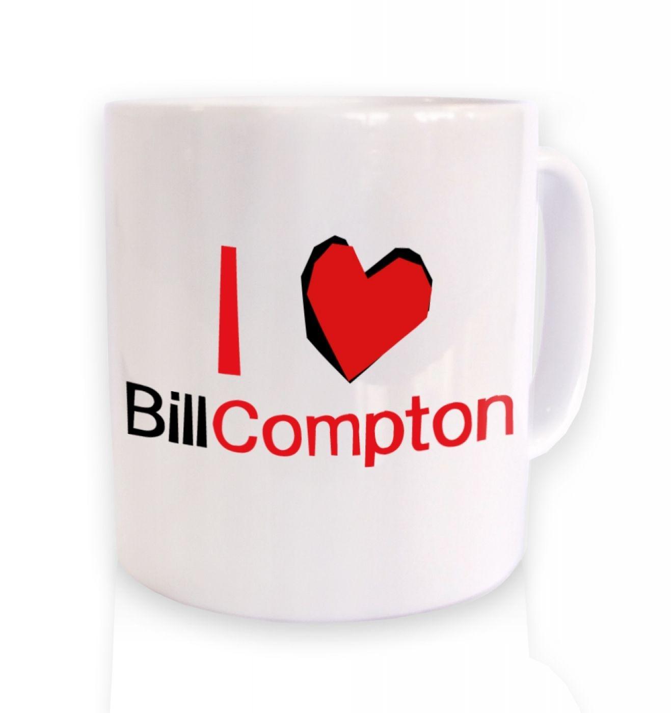 I heart Bill Compton mug - Inspired by True Blood