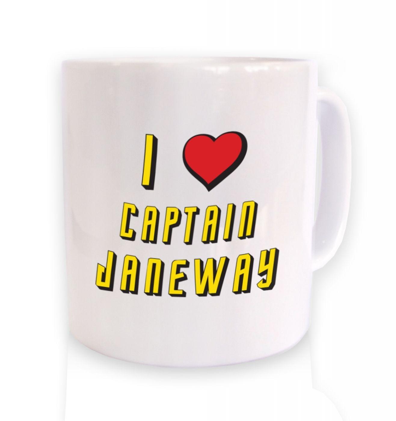 I heart Captain Janeway mug