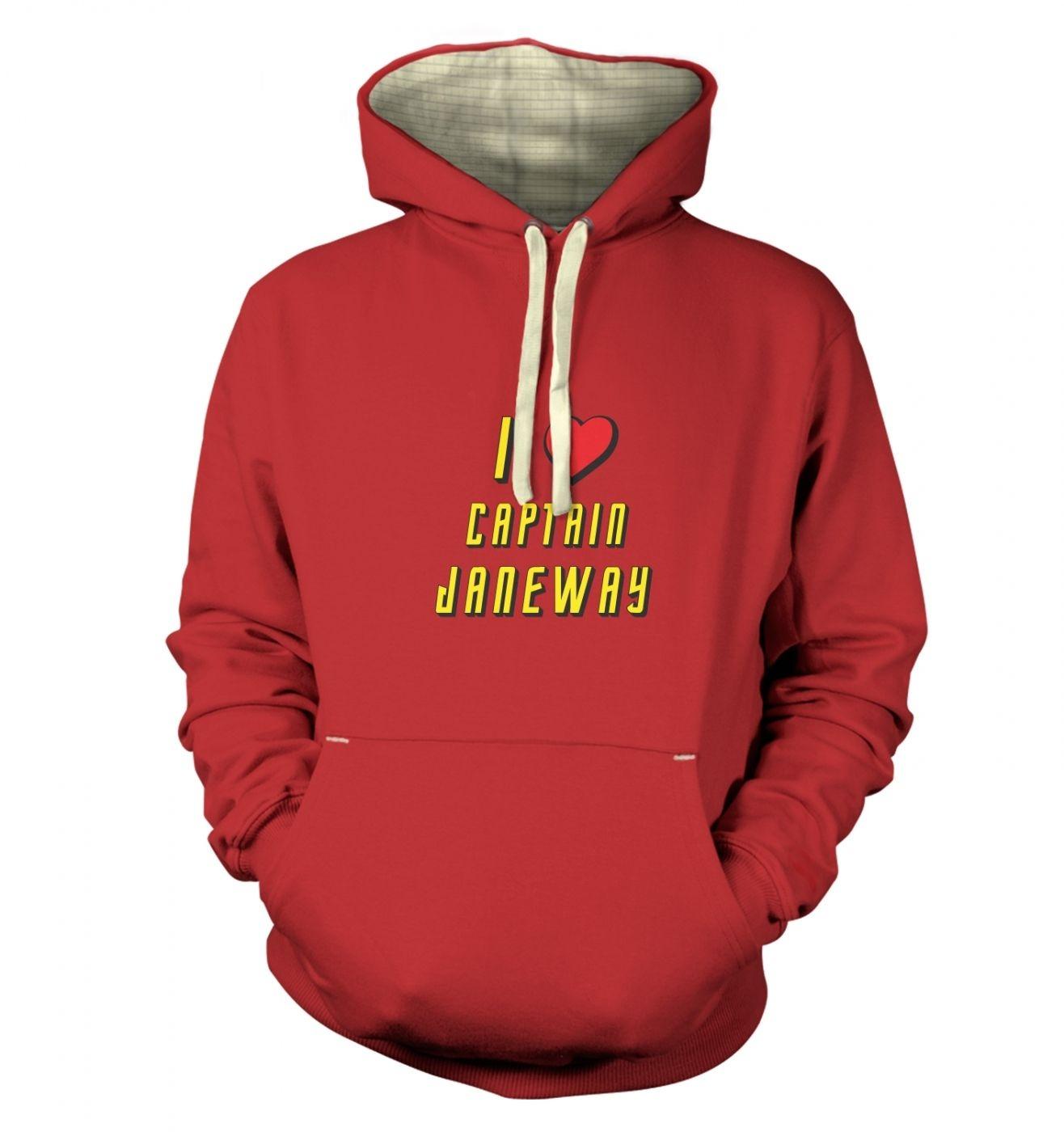 I heart Captain Janeway premium hoodie
