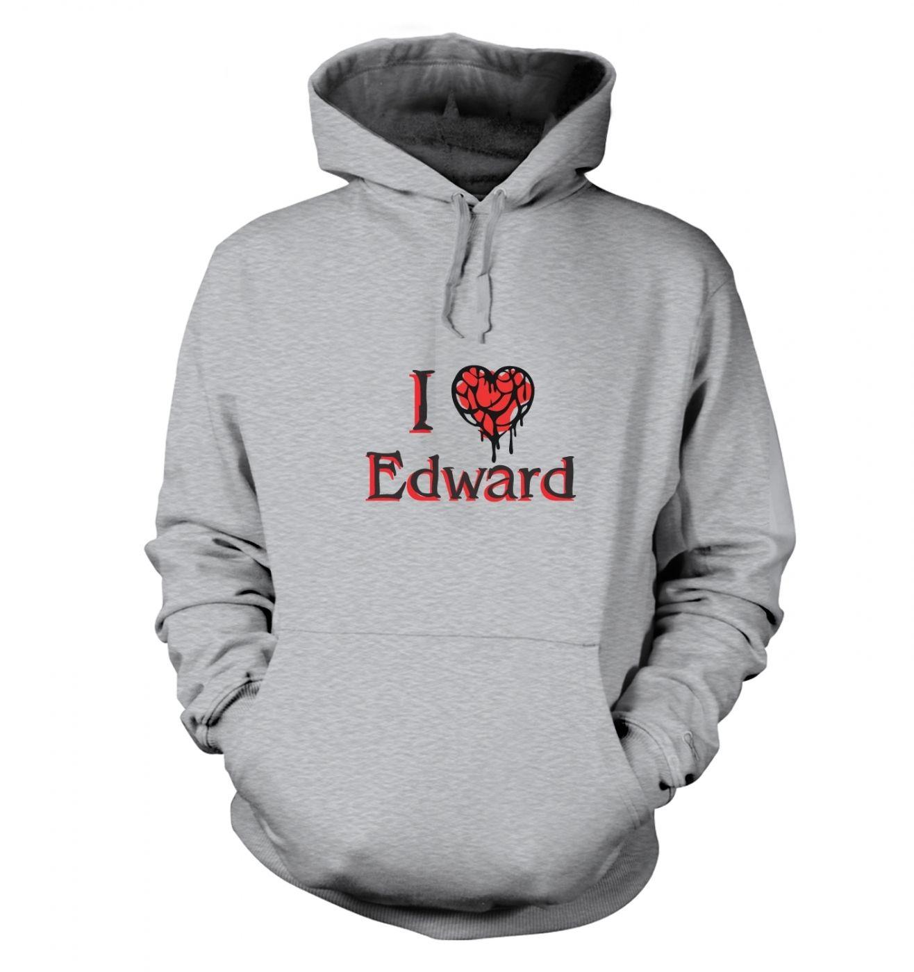 I Heart Edward hoodie