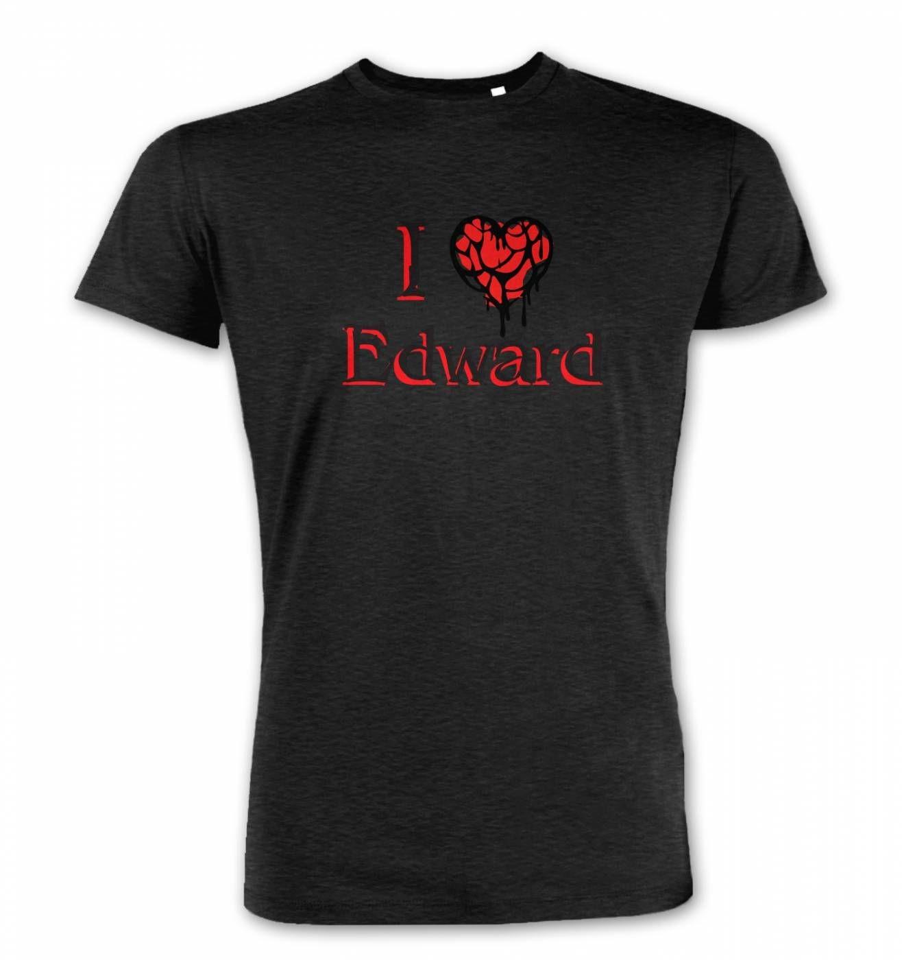 I Heart Edward men's Premium t-shirt