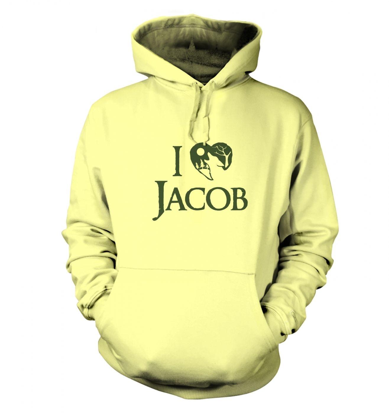 I Heart Jacob hoodie