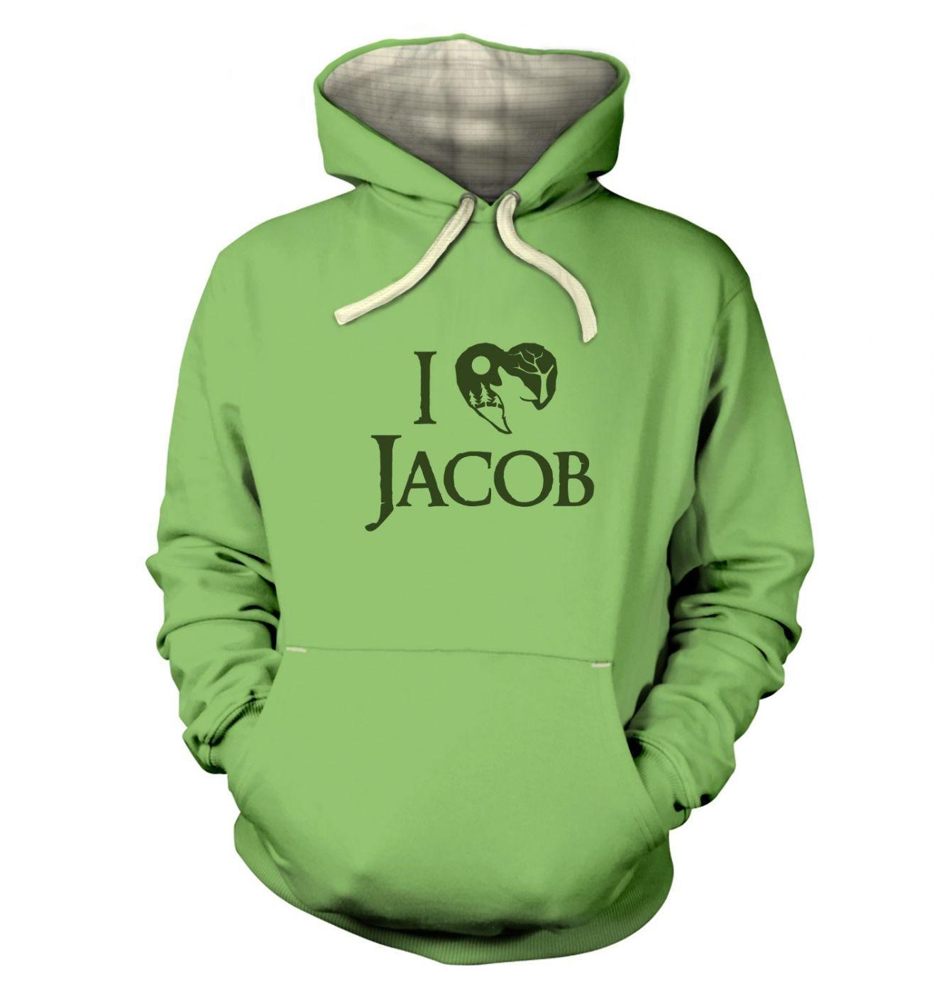 I Heart Jacob premium hoodie