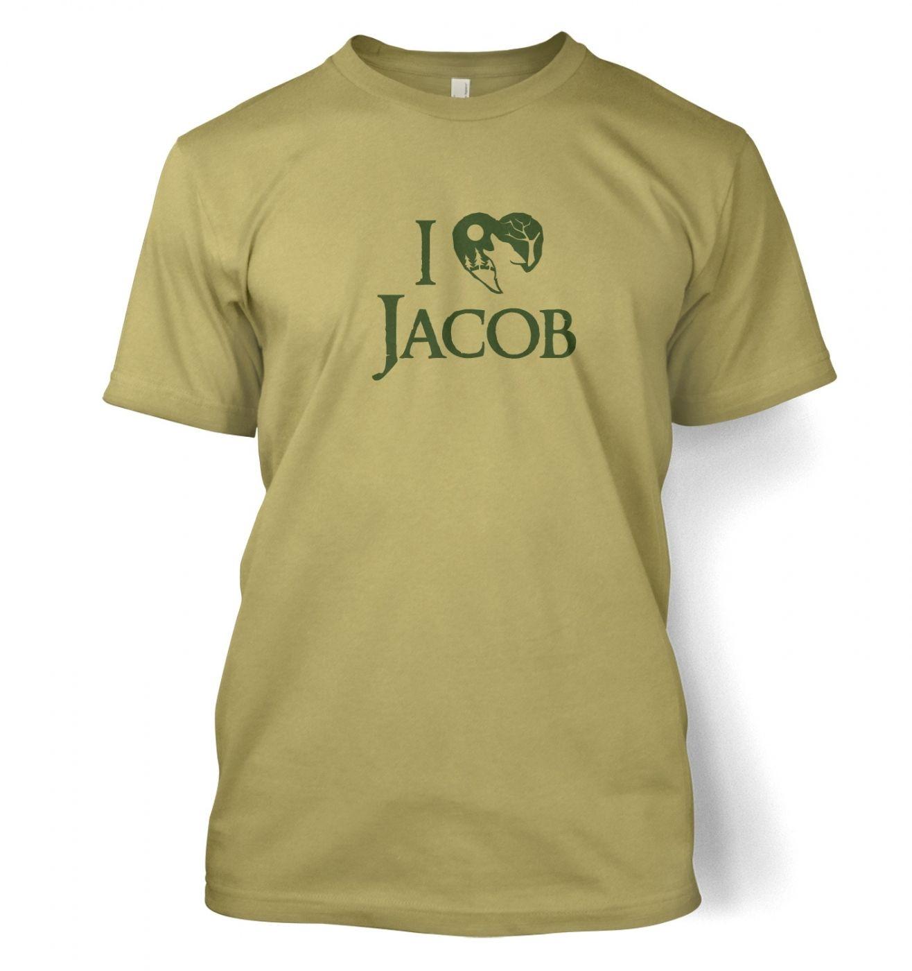 I Heart Jacob men's t-shirt