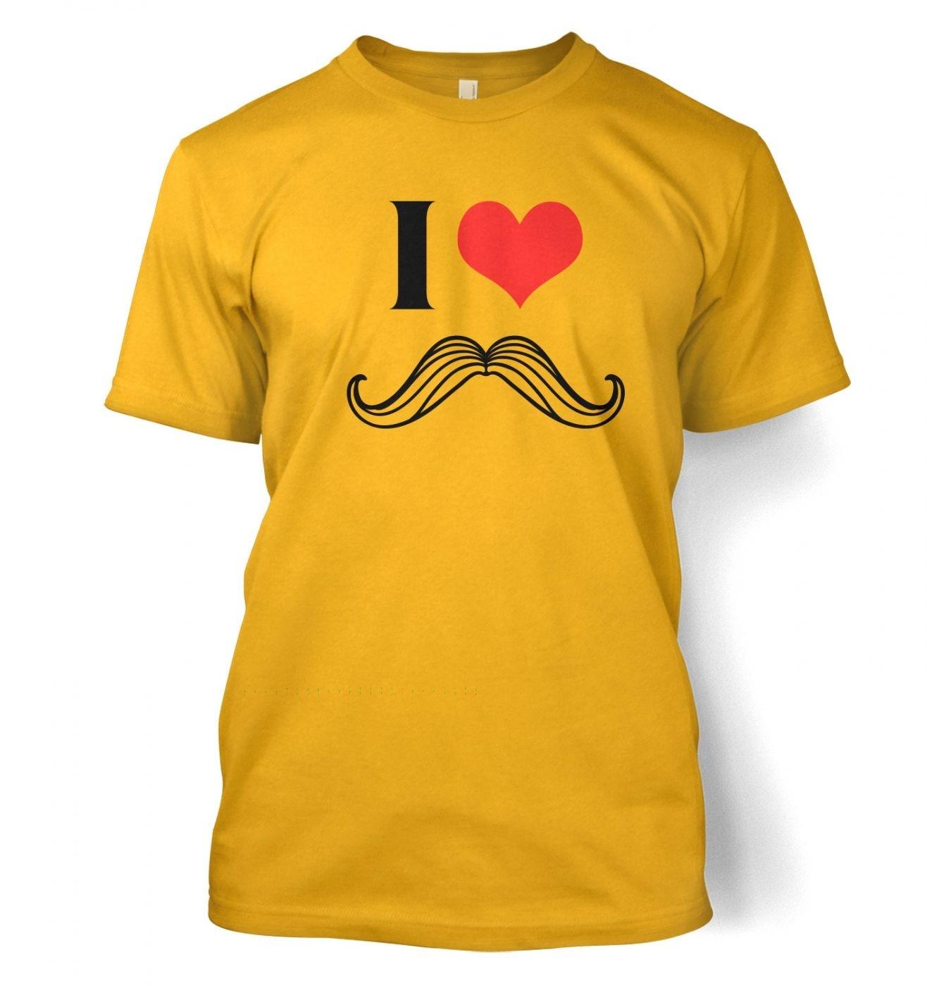 I heart moustache t-shirt