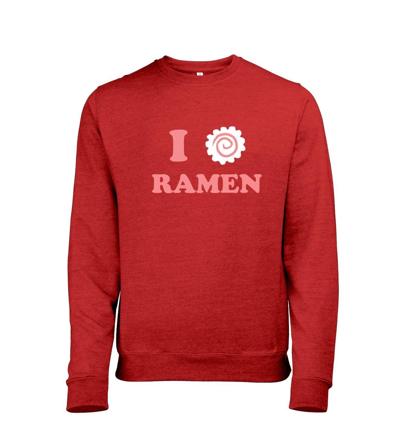 I Heart Ramen Men's Heather Sweatshirt