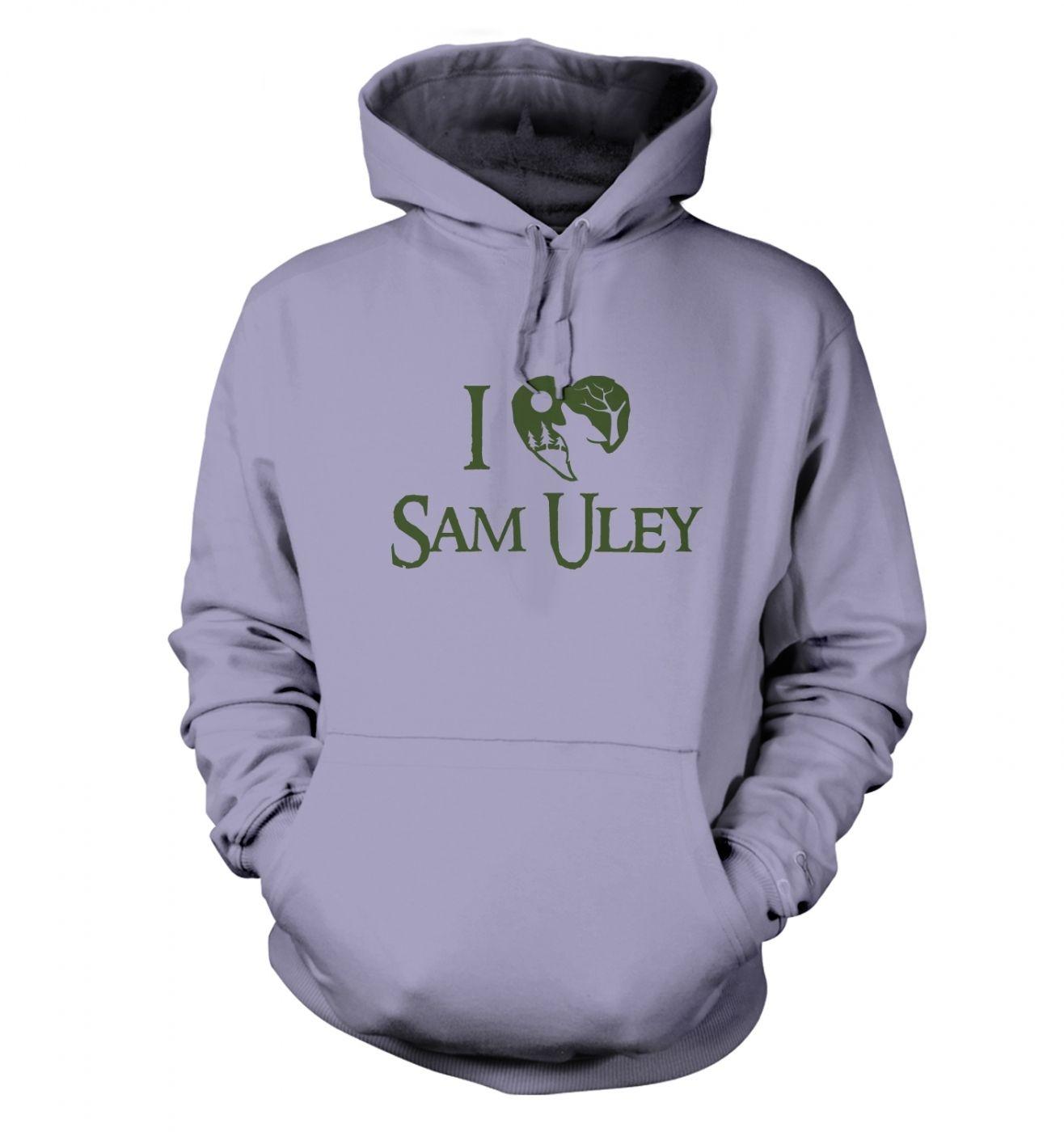 I Heart Sam Uley Adult Hoodie
