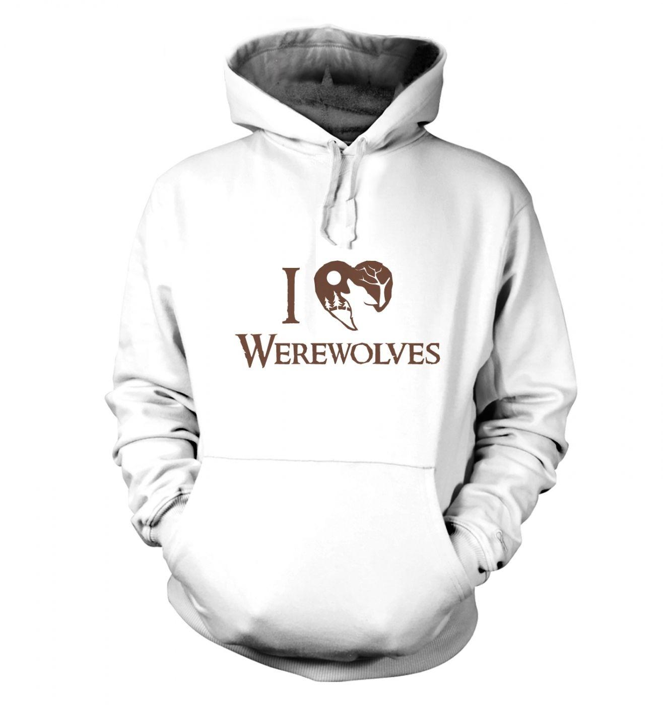 I Heart Werewolves hoodie